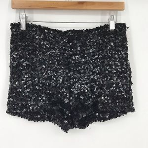 Sequined Dance Shorts